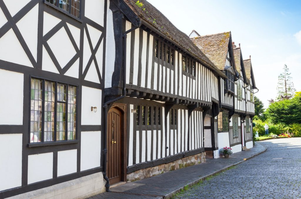Traditional Timbered Houses in Warwick